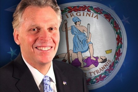 Governor of Virginia Terry McAuliffe Virginia Governor Terry McAuliffe
